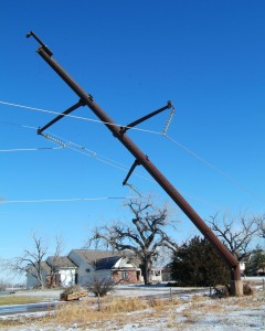 Broken Steel Pole